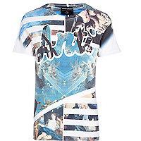White Anticulture renaissance print t-shirt