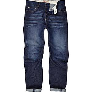 Dark wash Curtis slouch jeans
