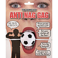 Novelty anti nag gag