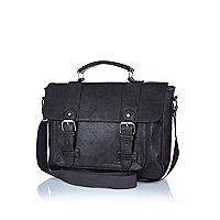 Dark grey satchel