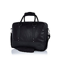 Black work bag
