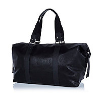 Black slouch holdall