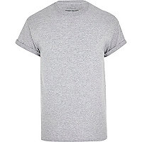 Grey marl t-shirt