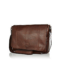 Dark brown messenger bag