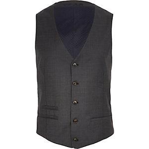 Dark grey vest