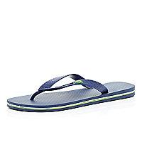Navy iPanema flip flops