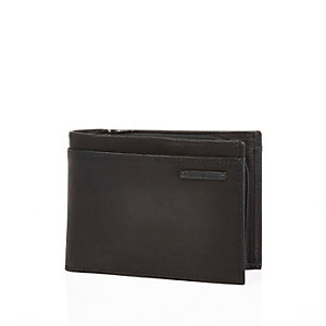 Black RI plaque wallet