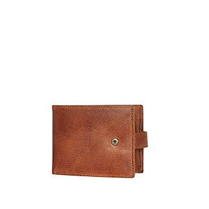 Tan RI popper wallet