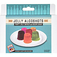 Jelly alcoshots mould and recipe book