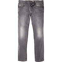 Grey Chester tapered jeans