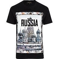 Black Russia print t-shirt
