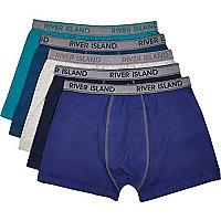 Green boxer shorts pack