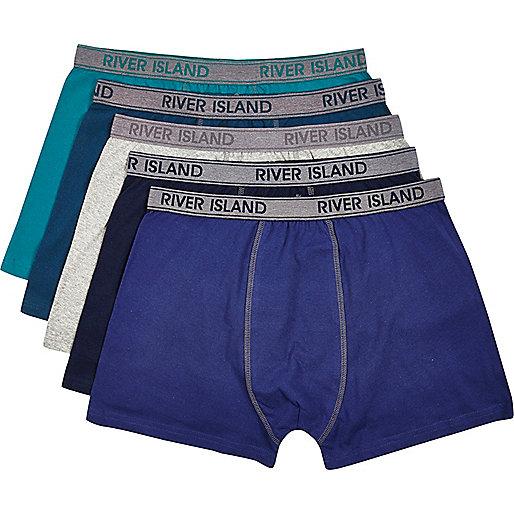 Green RI boxer shorts pack