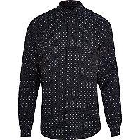 Navy Vito gradad shirt