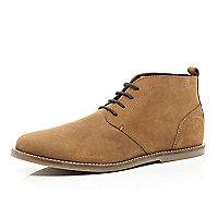 Tan chukka boots