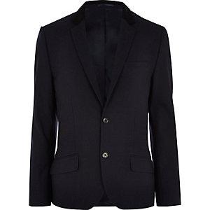 Navy smart blazer