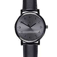 Black Timex classic round watch