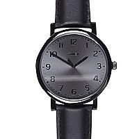 Black Timex classic round watch