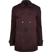 Dark red smart short mac