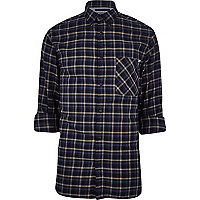 Blue Jack & Jones Vintage check shirt