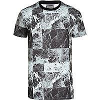 Grey Systvm stone print t-shirt