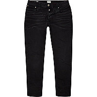 Charcoal Jack & Jones Vintage slim jeans