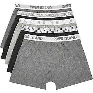 Grey RI boxer shorts pack