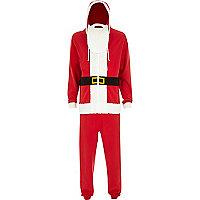 Red santa onesie