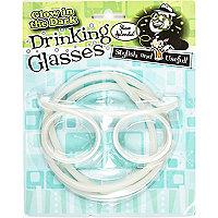 Glow in the dark drinking glasses