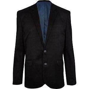 Black formal ponti blazer