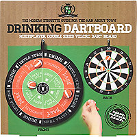 Drinking dartboard