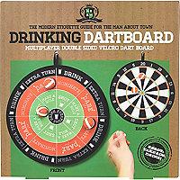 Drinking dartboard