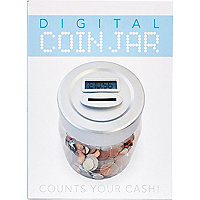 White digital money box