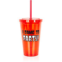 I came to party cup