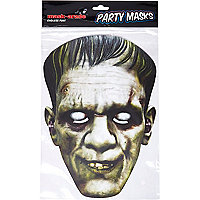 White Halloween Frankenstein mask