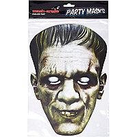 White Halloween Frankenstein mask