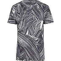 White FATHERDUCK abstract print t-shirt