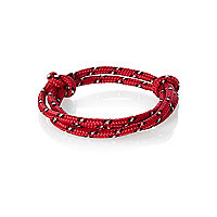 Red bungee cord bracelet pack