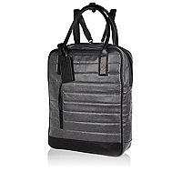 Grey Design Forum coated backpack