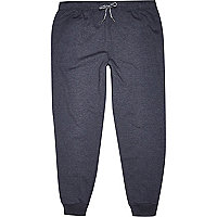 Blue jogger trousers
