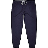 Navy jogger trousers