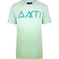 Light green Antioch print t-shirt