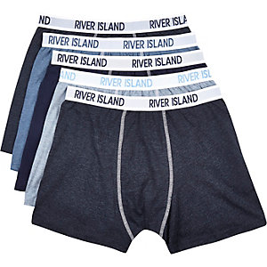 Blue RI boxer shorts pack