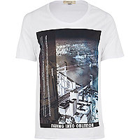 White city print t-shirt