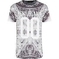 Black renaissance 00 print t-shirt