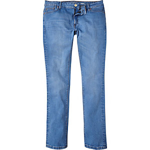 Light blue Sid skinny stretch jeans