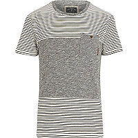 Ecru Holloway Road cut and sew t-shirt