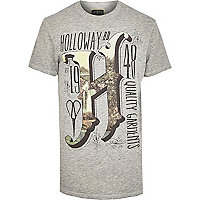 Grey Holloway Road print t-shirt