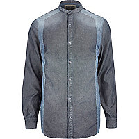 Blue Holloway Road grandad shirt