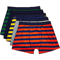 Mixed stripe boxer shorts pack